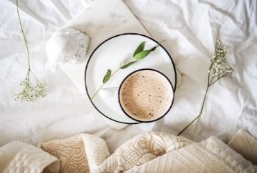 Warm Drink and Cosy Blanket