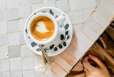 Heart-shaped Coffee